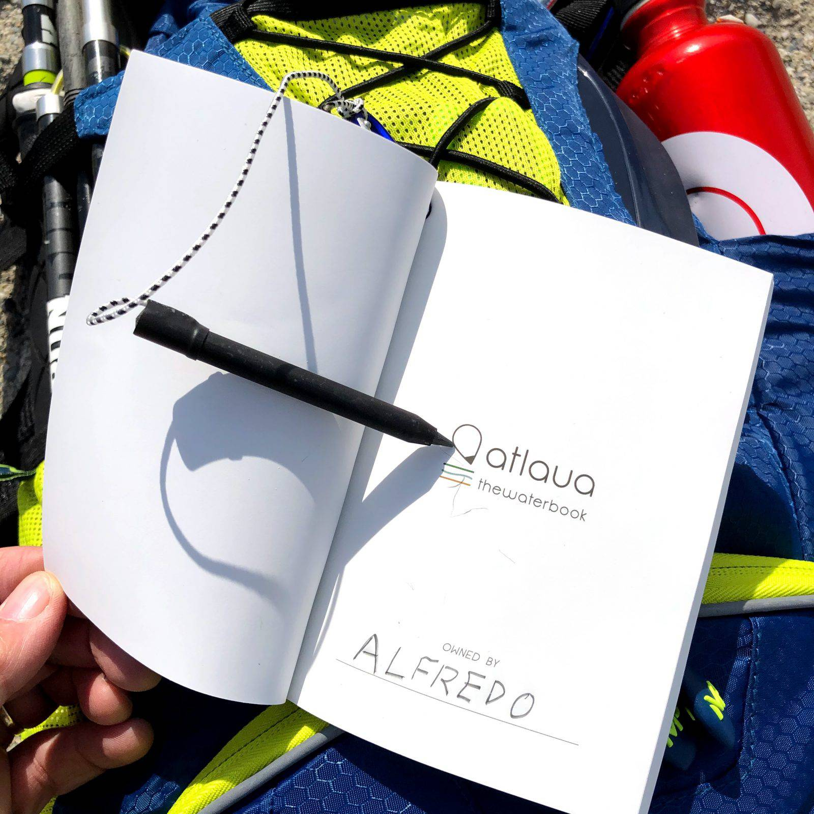 Il taccuino impermeabile Atlaua Waterproof notebook pronto per l'uso