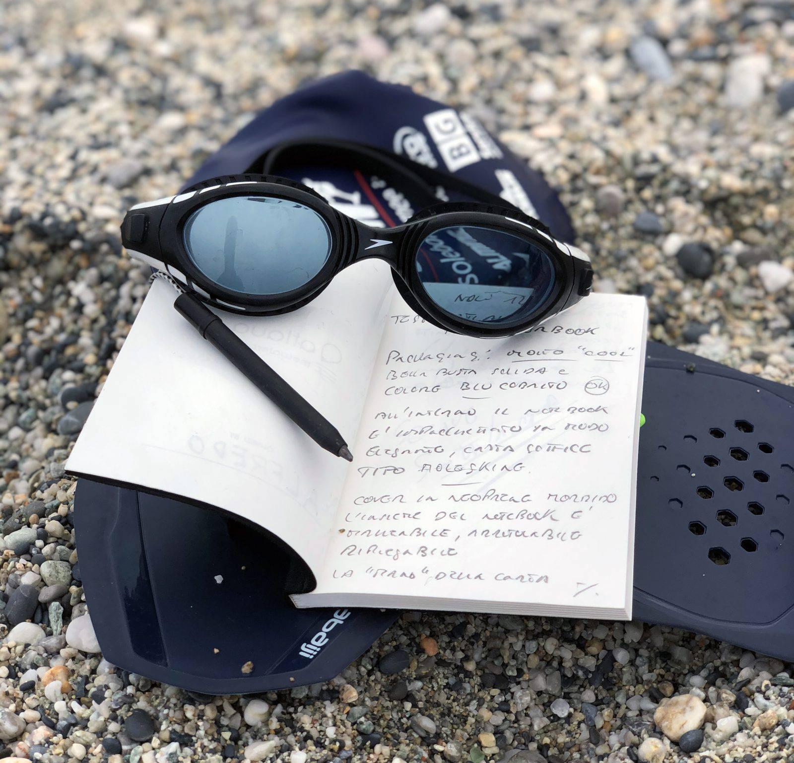 Fuori o dentro l'acqua con il taccuino Atlaua Waterproof Notebook prendi appunti senza difficoltà