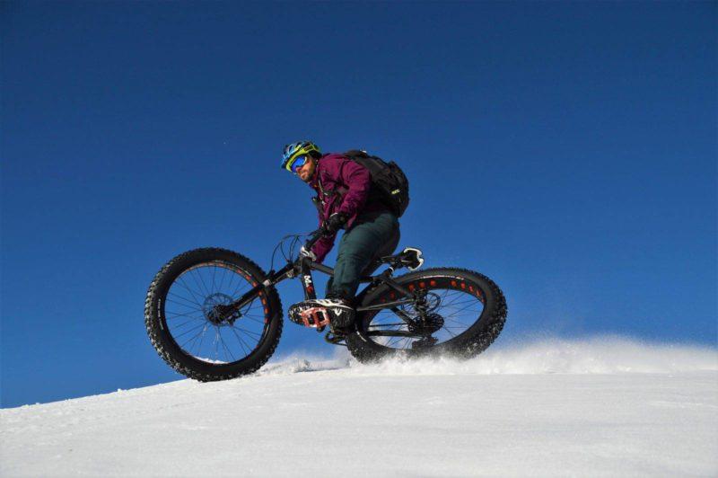 Adam Quadroni, Fat bike Livigno