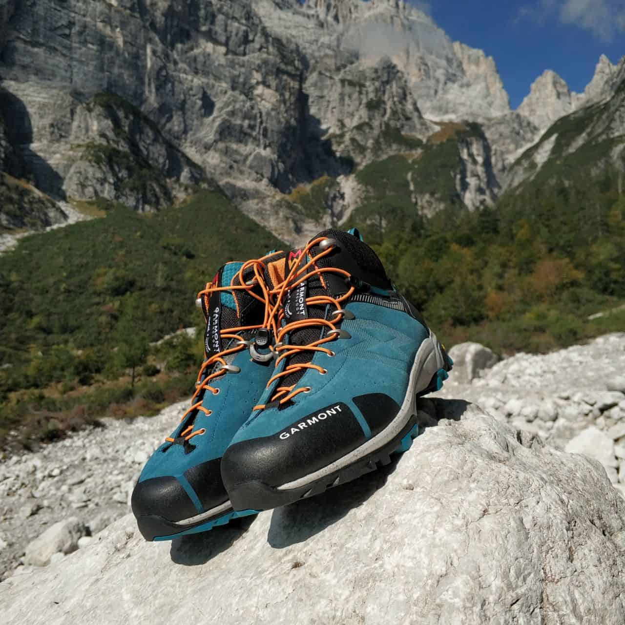 Garmont G-Trail mid GTX sulle Dolomiti di Brenta