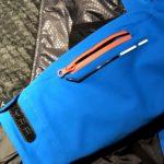 La tasca porta skipass della giacca da sci Marmorè di Hyra