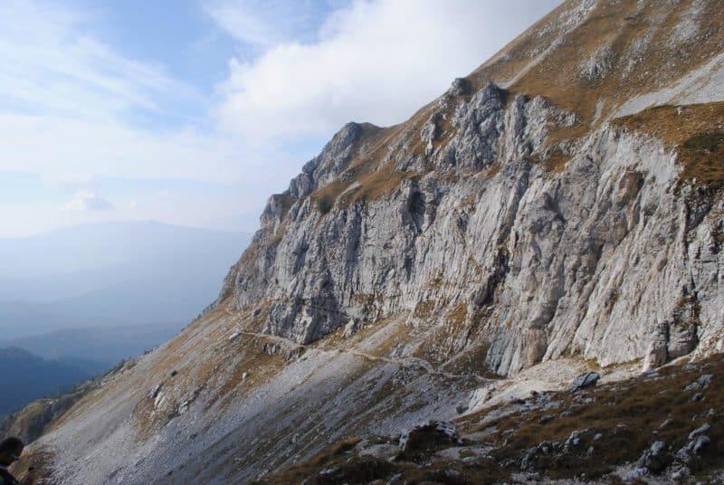 Trekking sui monti dell'Alpago