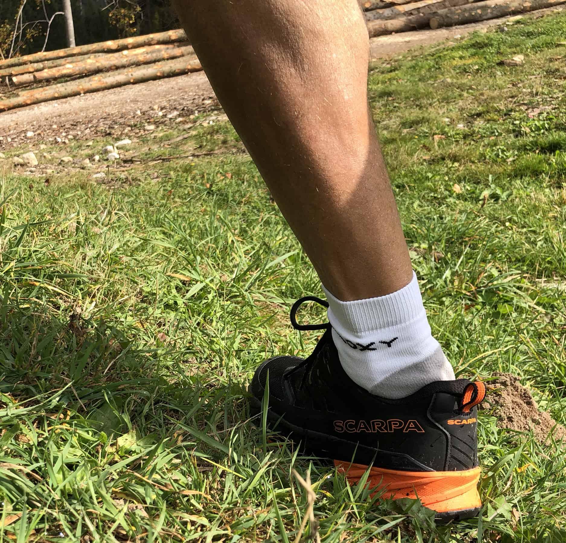 Scarpa Rush, appoggio in pronazione