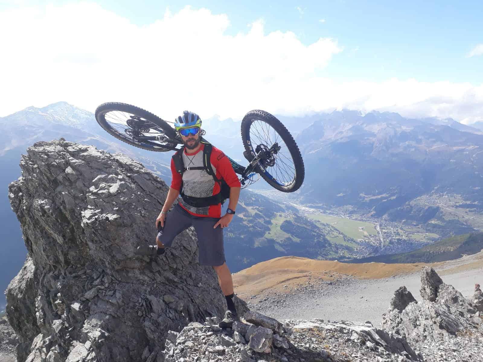 Adam Quadroni bike