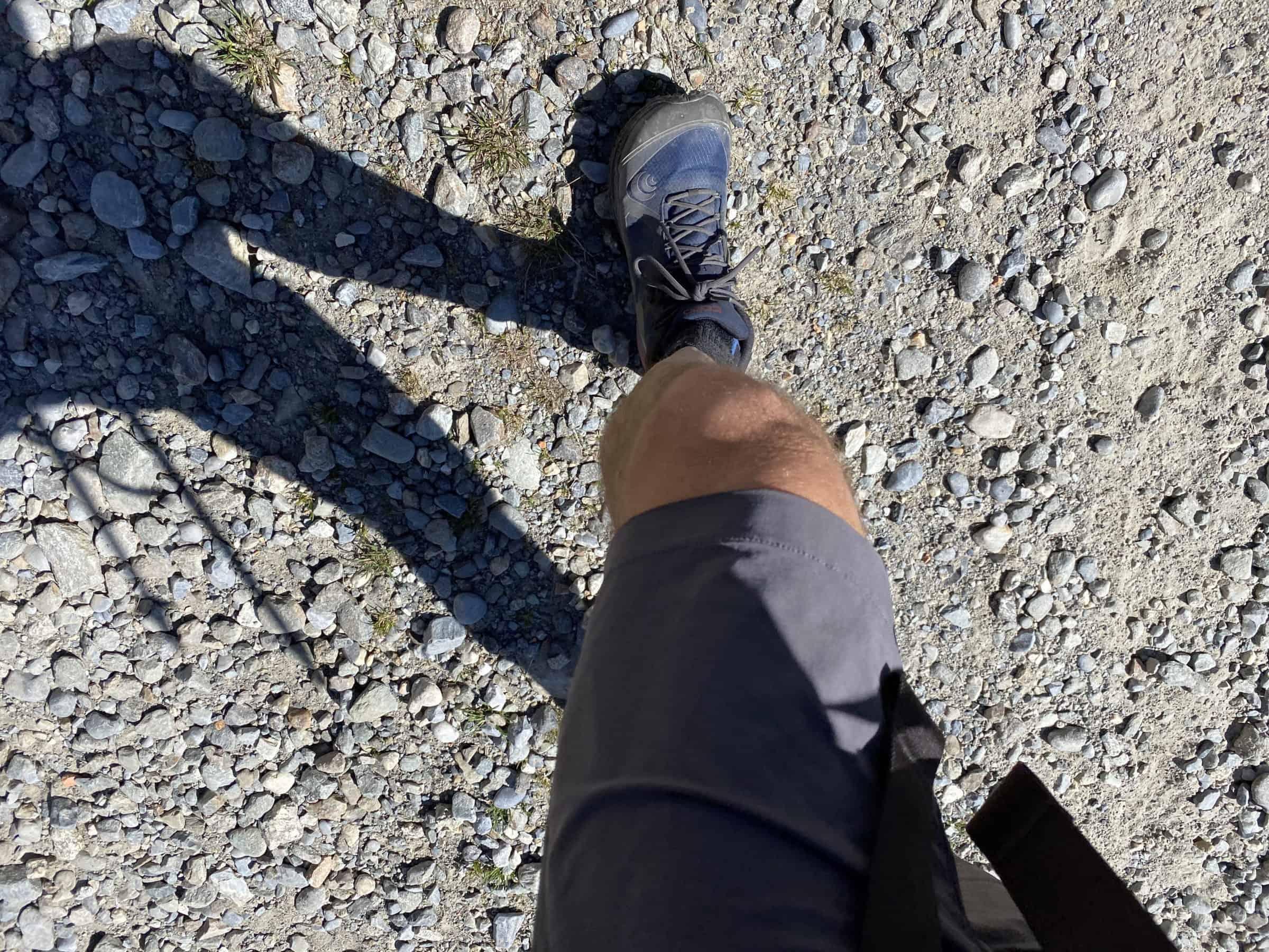 Ottima sensibilità della suola della Topo Athletic Trailventure su ogni terreno