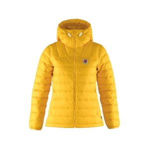 Expedition Pack Down Hoodie W giallo