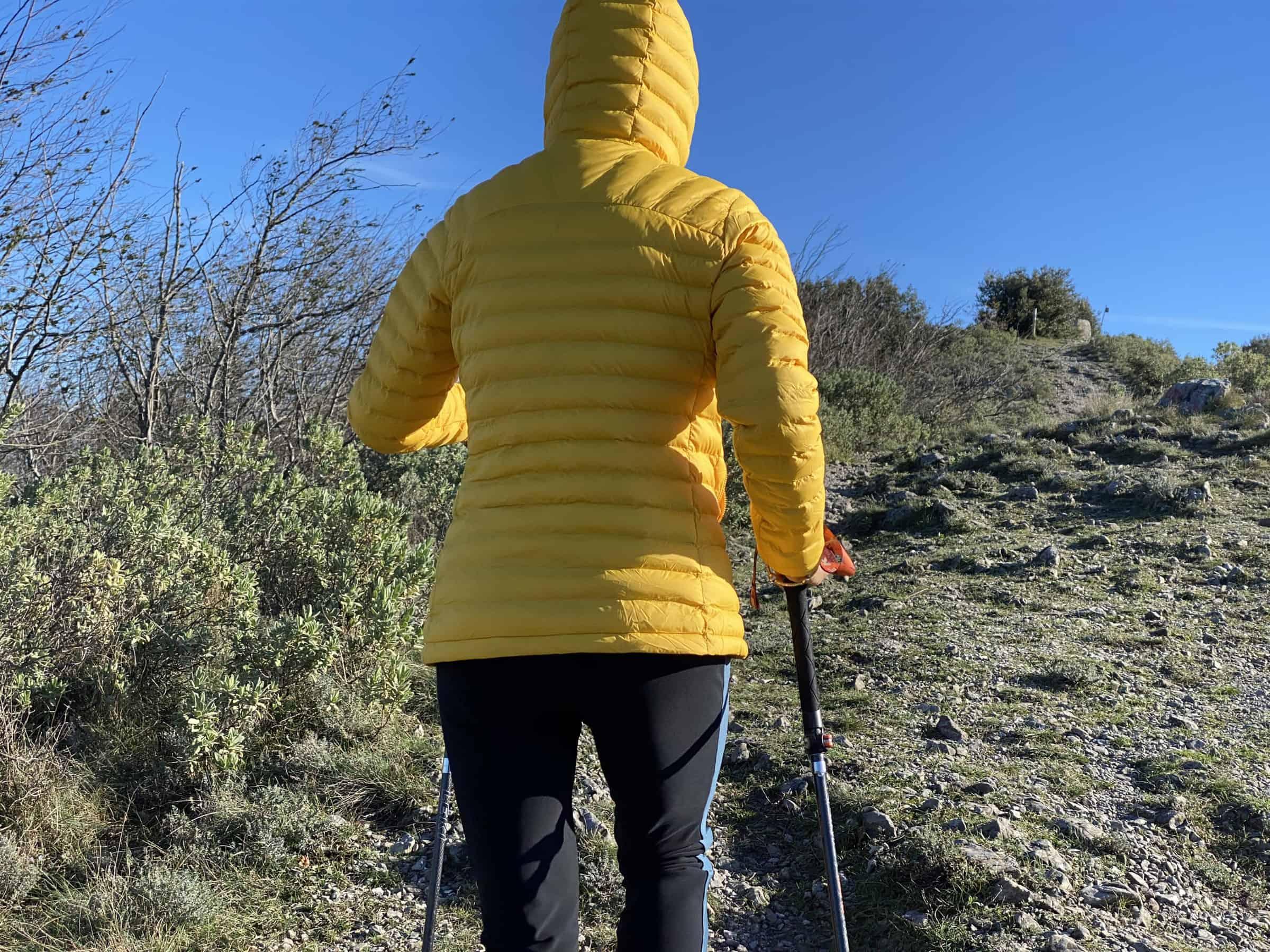 Fjällräven Expedition Lätt Hoodie, salita al monte Mao, sopra Spotorno (440 mt.)