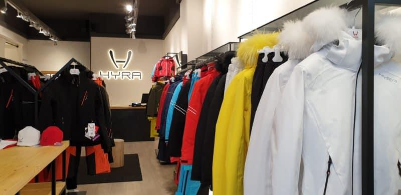 Hyra, lo showroom di Cortina d'Ampezzo