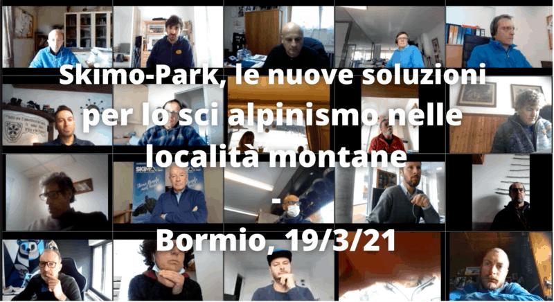 Skimo Park le nuove soluzioni per lo sci alpinismo nelle località montane, Bormio 19/3/21