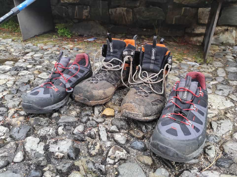 Dopo 2000 km è giunto il momento di abbandonare i vecchi scarponi