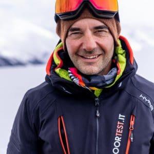 Riccardo Stacchini, decano dei test di Outdoortest.it