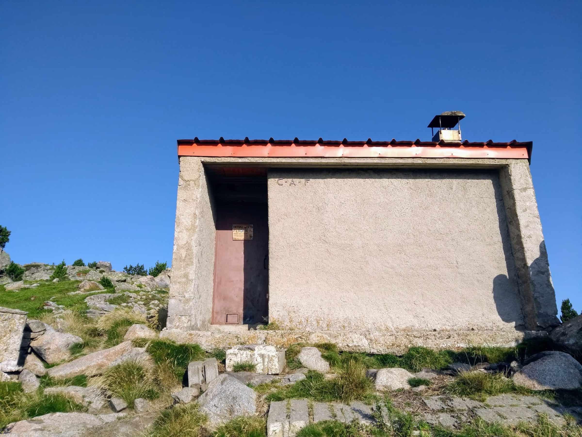 Piccolo bivacco nei Pirenei francesi