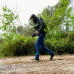 Aku Trekker Pro GTX, prova in acqua