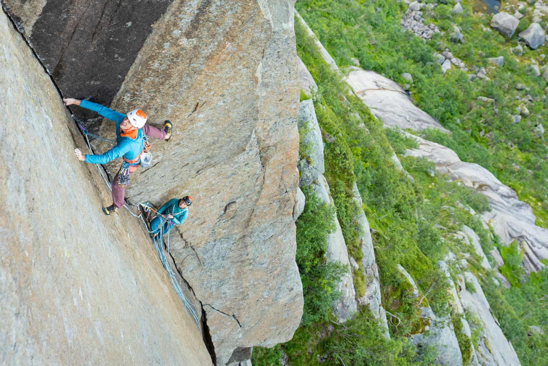 Vibram climbing campaign