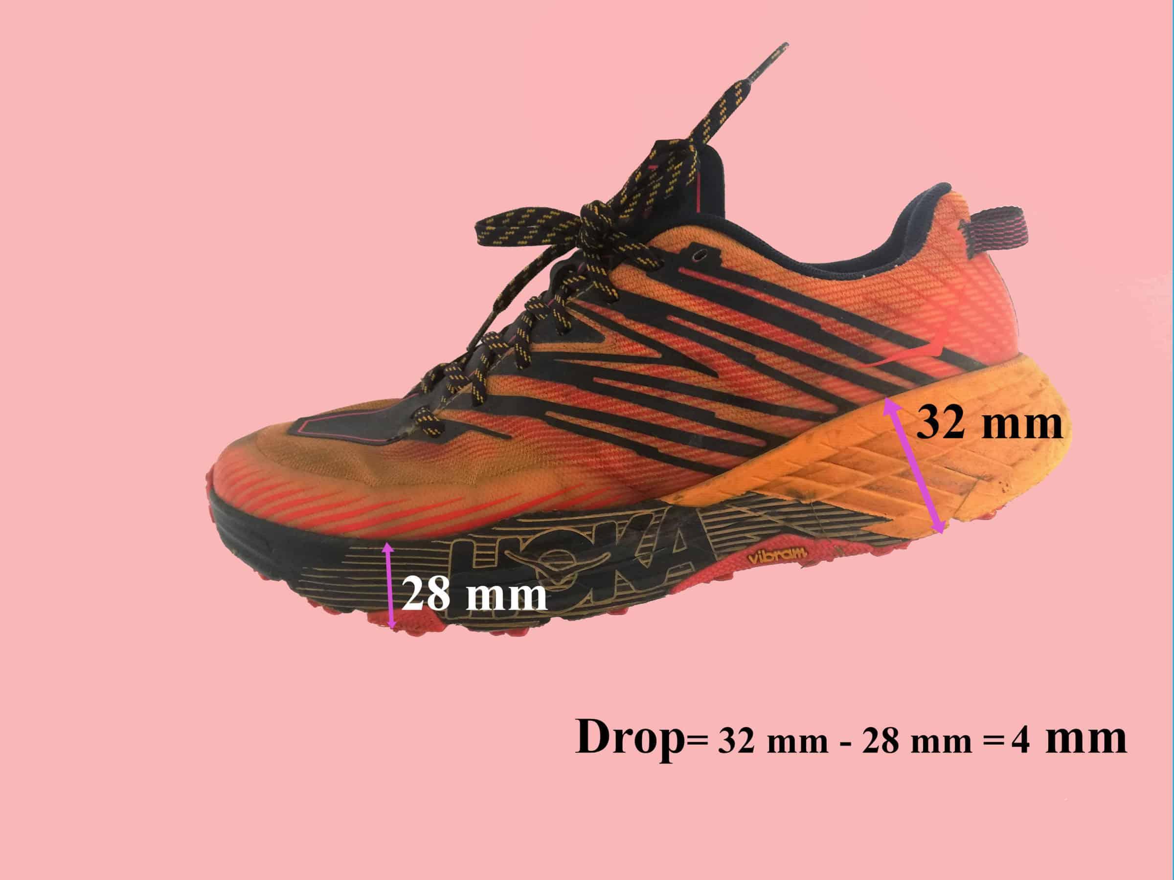 Come scegliere la scarpe da corsa - Drop