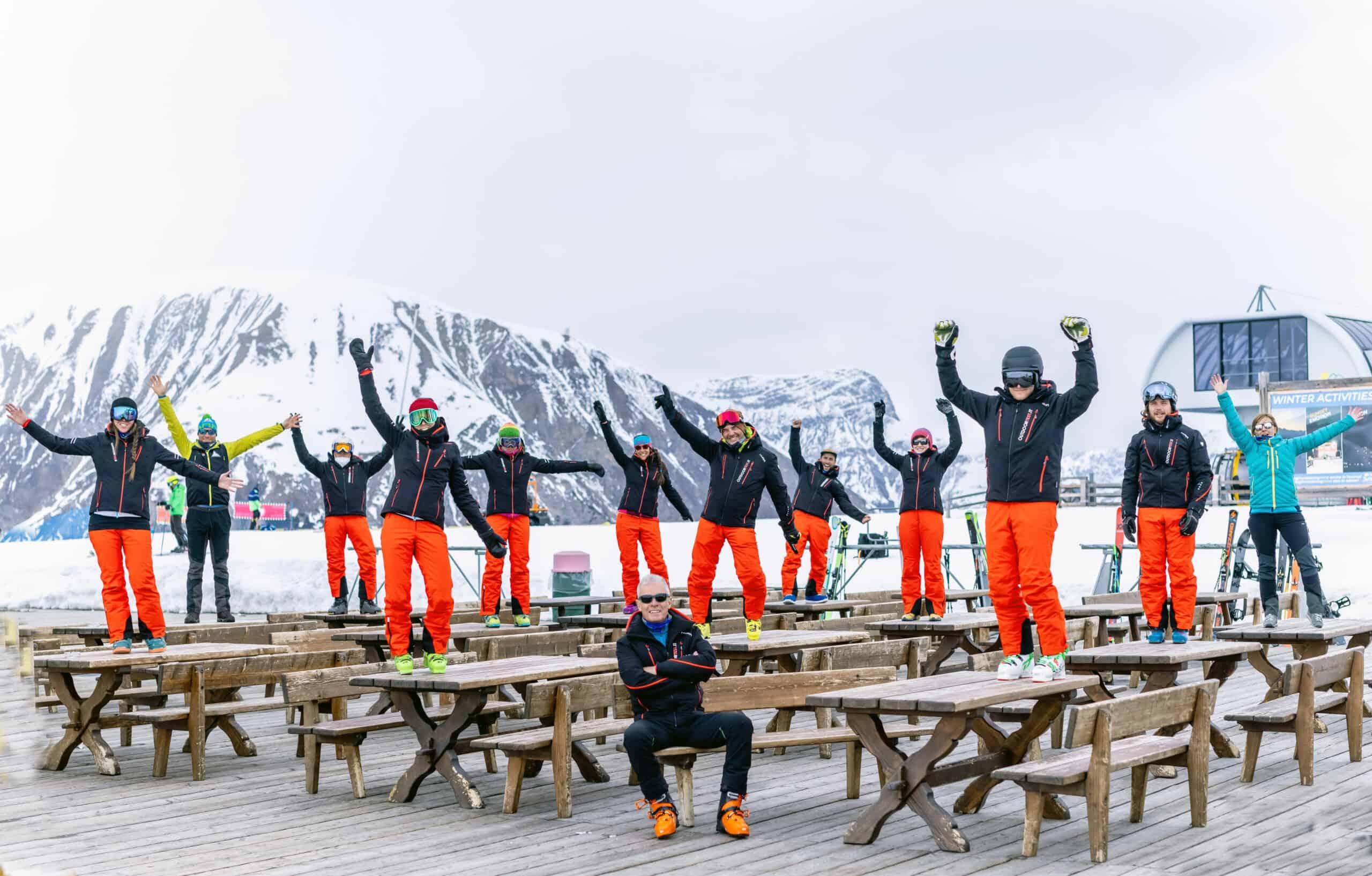 Outdoortest team a Livigno 2021