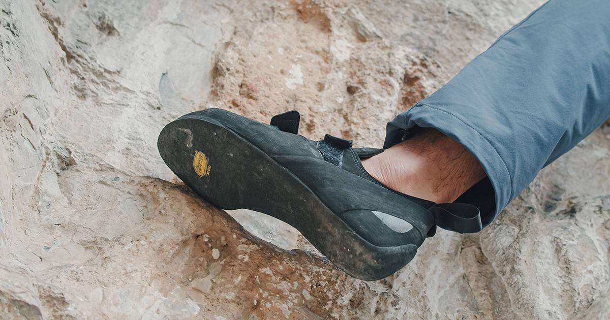 Vibram XS Eco - free climbing