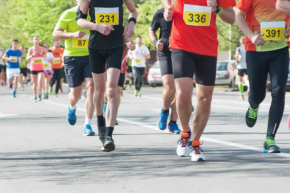 Running e diverse distanze - maratona