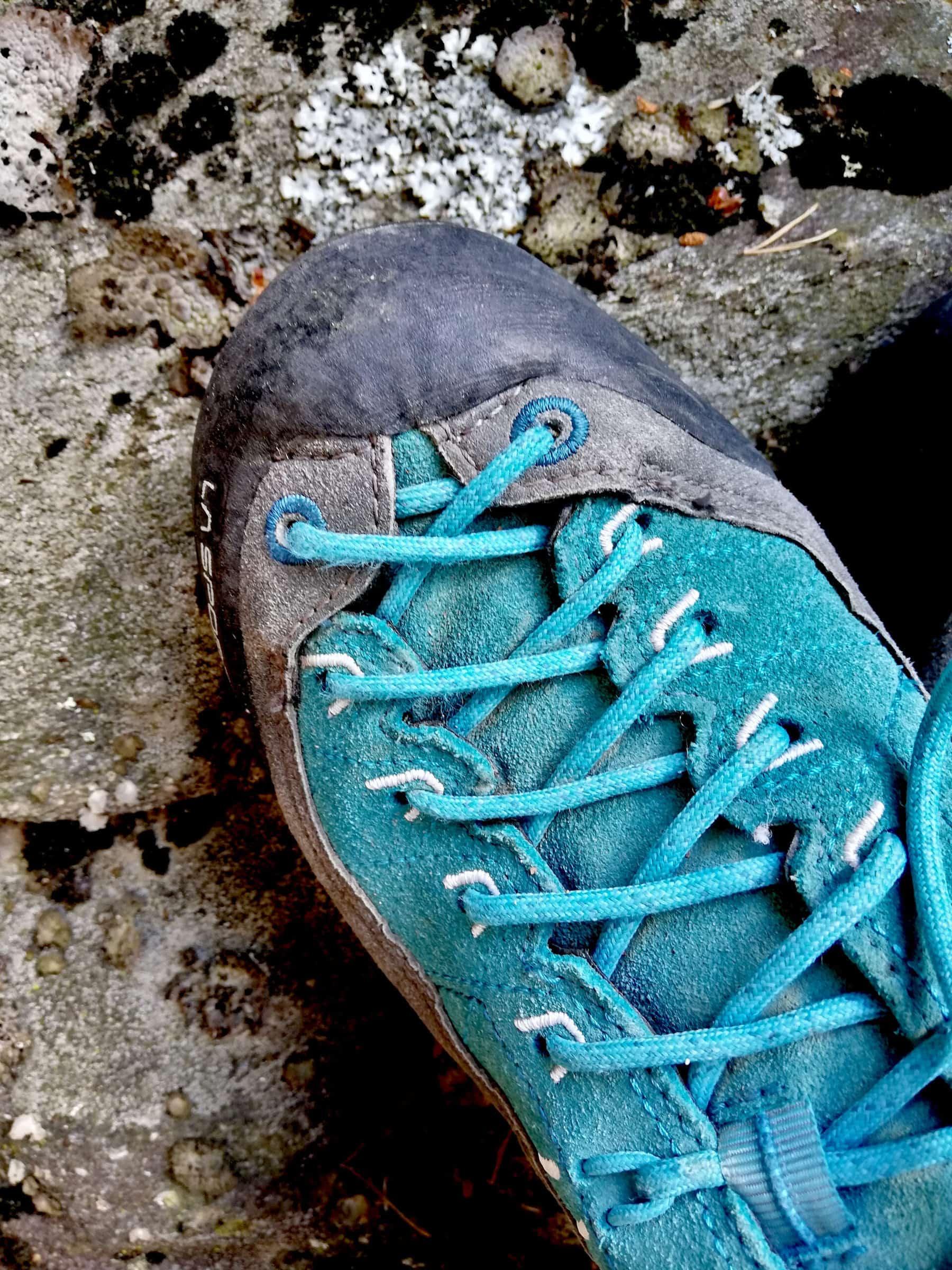 Scarpe da ferrata: come sceglierle - puntale