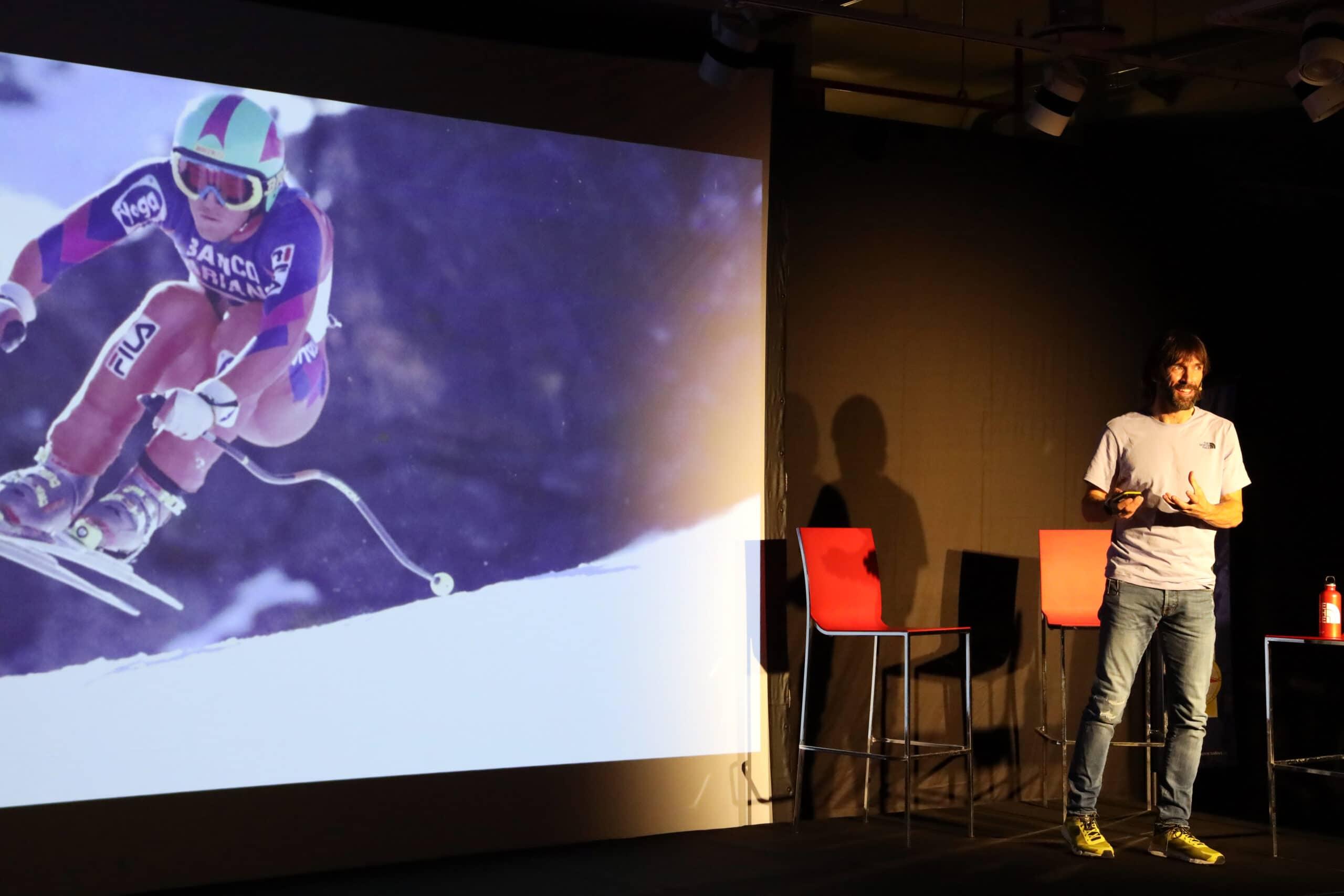 Hervé Barmasse racconta il suo passato da promessa dello sci azzurro